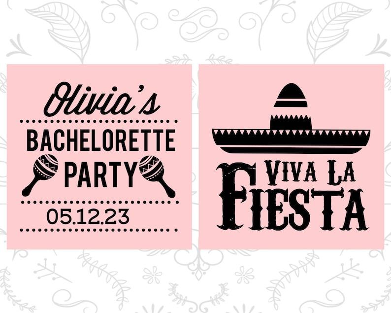 Mexican Bachelorette Party Favors 60001 Fiesta Bachelorette Party Favors Custom Bachelorette Viva La Fiesta Bachelorette Favors