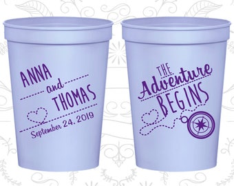 Lilac Stadium Cups, Lilac Cups, Lilac Party Cups, Lilac Wedding Cups (284)