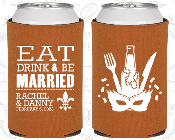 Eat Drink And Be Married New Orleans Wedding Favors Nola Wedding