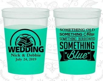 Something Old, Something New, Something Borrowed, Something Blue, Printed Mood Cups, Wedding Bells, Green Mood Cups (466)