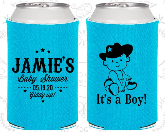 It S A Boy Baby Shower Printed Baby Shower Gift Cowboy Baby Shower