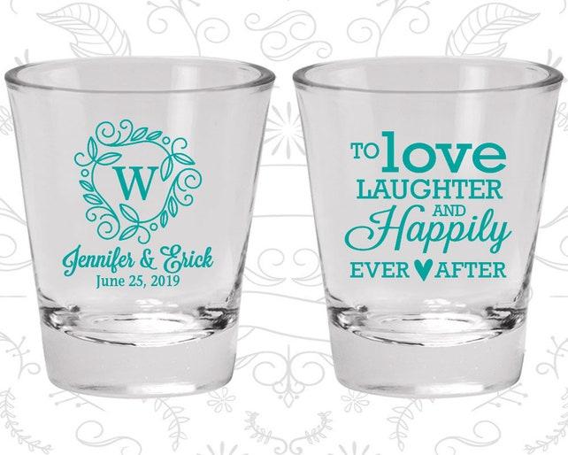 Wedding Shot Glass, Shot Glasses, Shot Glass, Wedding Favors, Custom Shot Glasses, Personalized Shot Glasses, Custom Shot Glass (C61)