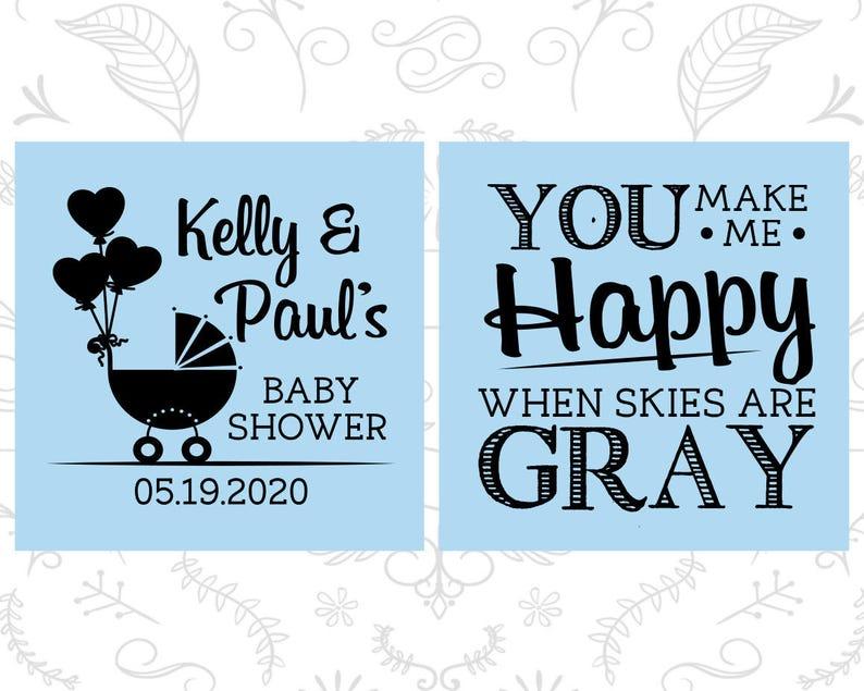 Coed Baby Shower Baby Shower Shot Glasses 90010 Couple Baby Shower Baby Shower Glassware