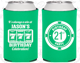 21st Birthday, 21st Birthday Favors, Imprinted Party Decorations, Las Vegas Birthday, Poker Birthday, Casino Birthday,Party Favors (20065)
