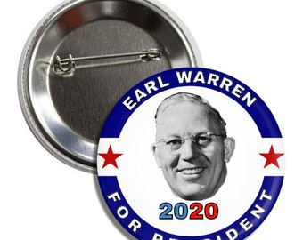 "2020 Senator Elizabeth Warren for President 3/"" Button /""Ideas Matter/"" Pin"