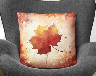 Fall Leaf Pillow Home Decor Autumn Decoration Pillow