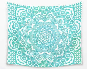Ombre Mandala Tapestry Sacred Home Decor Bohemian Finding in Four Sizes