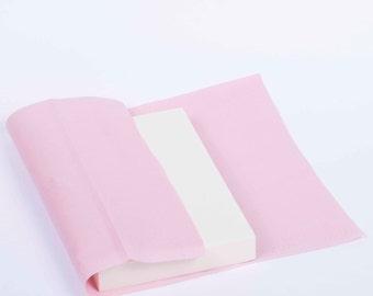 Sponge for flower making, hard, 150х100х20mm with cotton save sheet