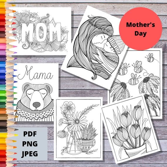 Printable Coloring Pages  Mother's Day Coloring Pages