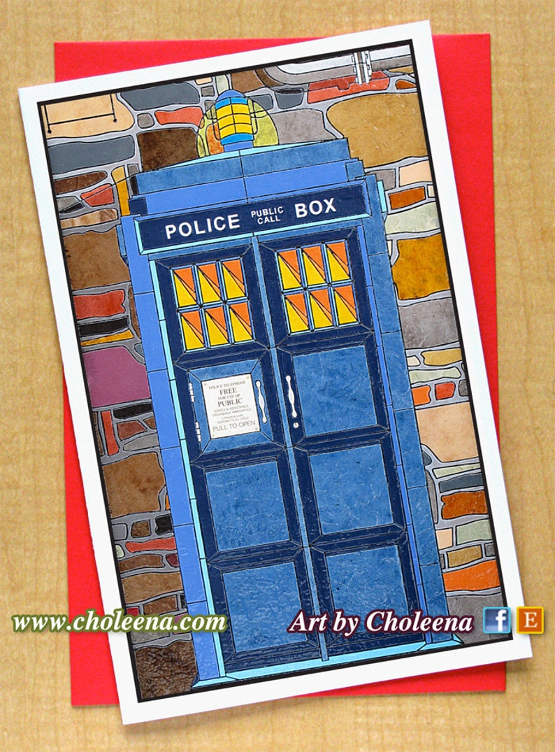 Gallery Paper & Party Supplies Blank Cards Dr Who Card Greeting Card ... is free HD wallpaper.