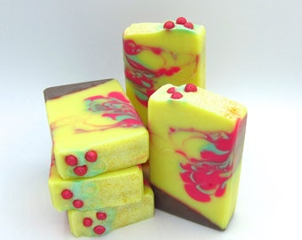 Berry Breeze - goat milk artisan soap