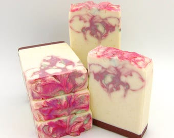 Magnolia Showers goat milk artisan soap