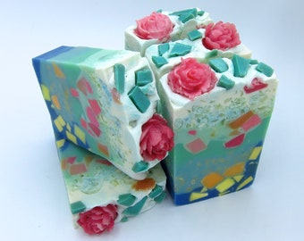 Lily pond artisan soap