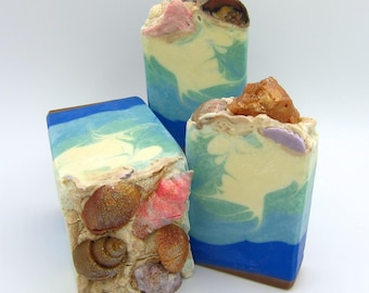 Sea Breeze goat milk artisan soap