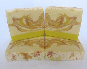 SALE - Lemon Yellow artisan soap