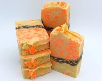 Confetti essential oil soap