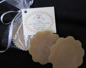 Dry/Mature Skin Face Soap - luxury artisan bar soap