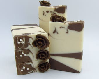Chocolate Rose artisan soap