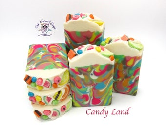 Candy Land hand made artisan soap