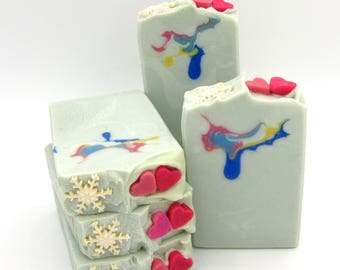 Snow Princess goat milk artisan soap