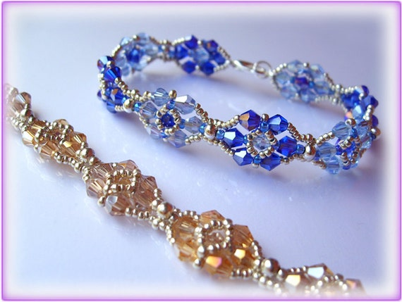 Clara bracelet beading TUTORIAL