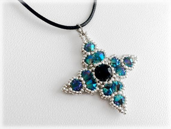 ShinyStar pendant beading TUTORIAL