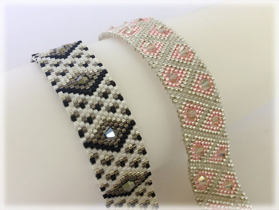 Peyote techniques and patterns beading TUTORIAL