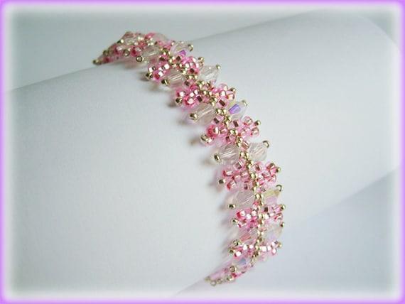 Disheveled bracelet beading TUTORIAL