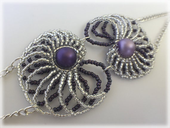 PurpleSnail bracelet beading TUTORIAL