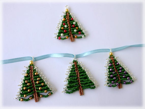 XmasTree pendant beading TUTORIAL