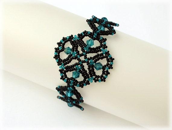 MyLittleHearts bracelet beading TUTORIAL