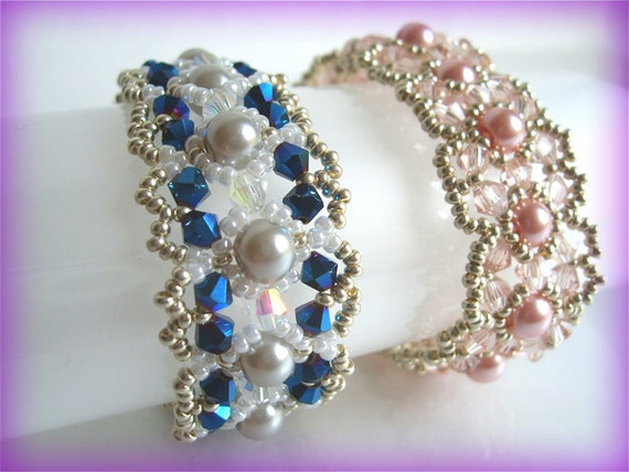 RoseRow bracelet beading TUTORIAL