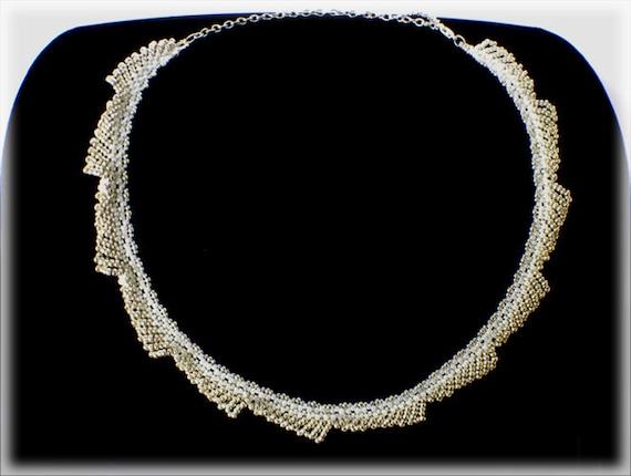 GearWheel necklace beading TUTORIAL