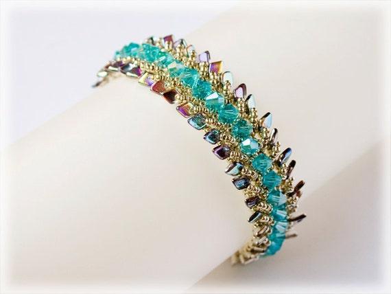 Dragon bracelet beading TUTORIAL