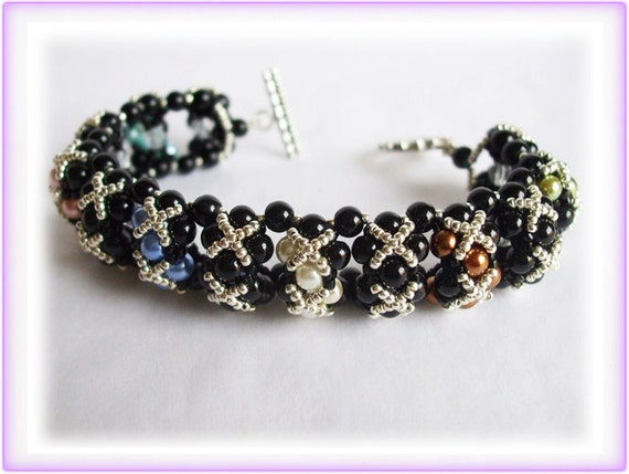 Bridges bracelet beading TUTORIAL
