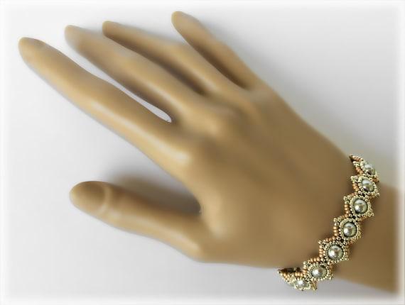 SimplElegance bracelet beading TUTORIAL