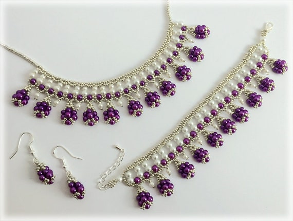 DropFringe set beading TUTORIAL