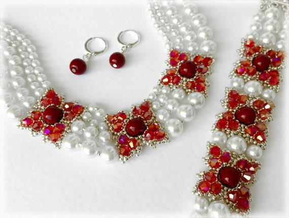 ClassiClaret set beading TUTORIAL