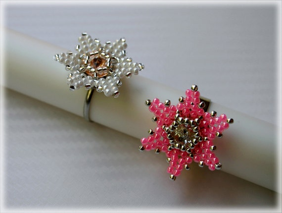 Squill ring beading TUTORIAL