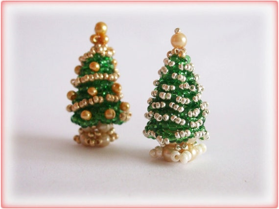Christmas Tree beading TUTORIAL