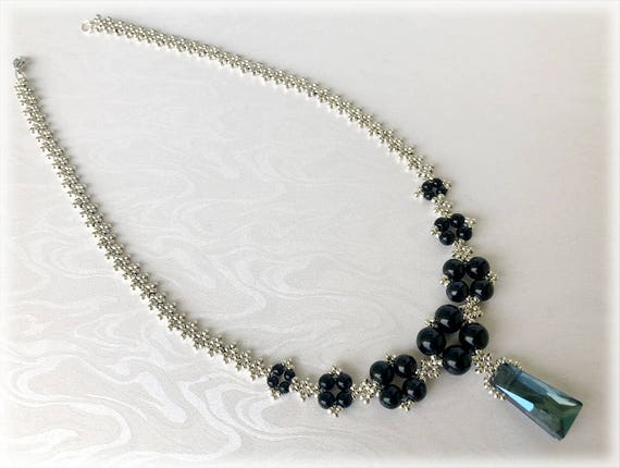 ZagDiamonds necklace beading TUTORIAL