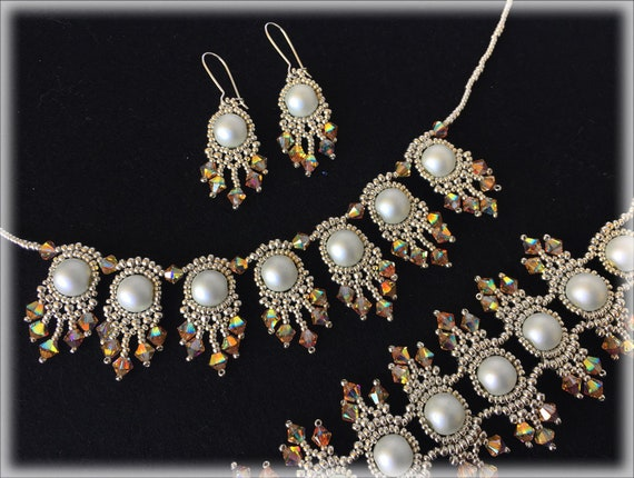 GoldFeather set beading TUTORIAL