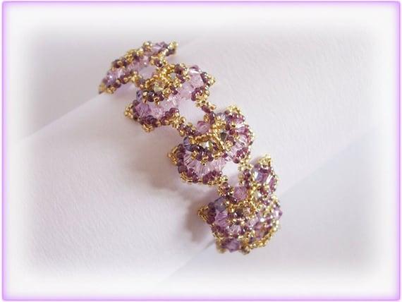 Butterfly bracelet beading TUTORIAL