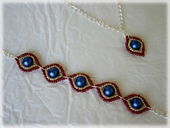 BluEyes set beading TUTORIAL
