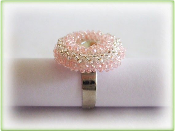 Foamy ring beading TUTORIAL