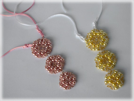 Krims pendant beading TUTORIAL