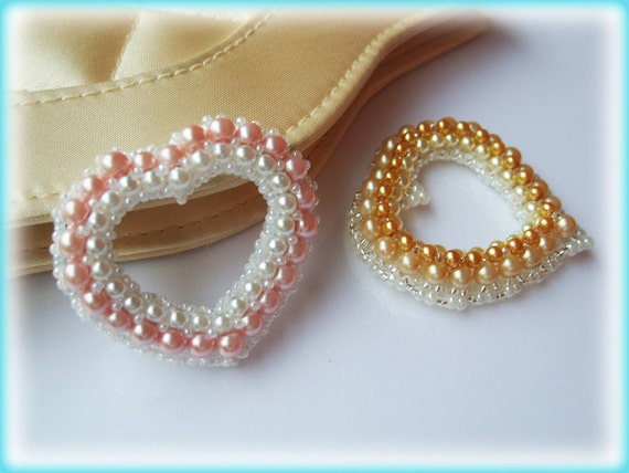 Heart motif beading TUTORIAL