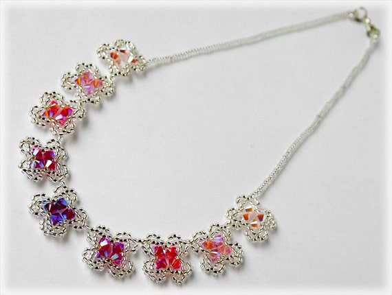 Kitti necklace beading TUTORIAL