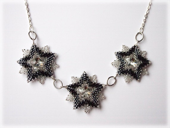 Squills necklace beading TUTORIAL