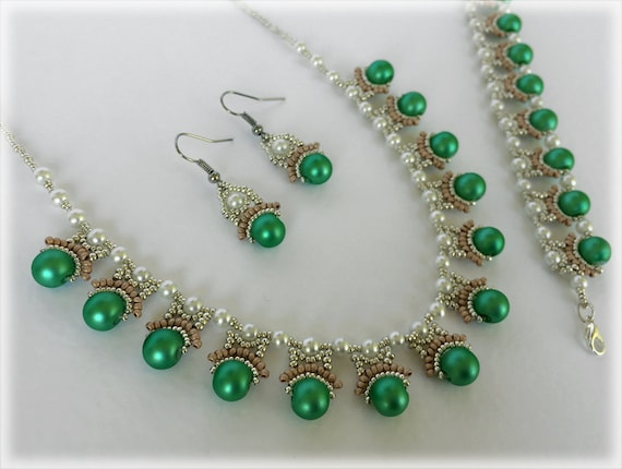 GreenyGreek set beading TUTORIAL